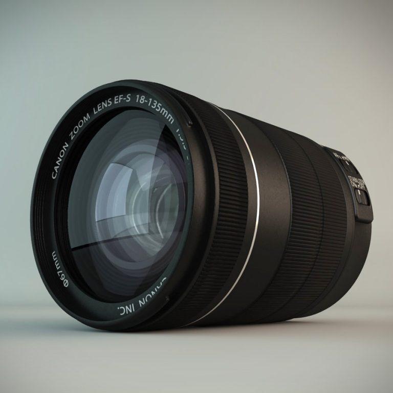 Canon objektiv 1 1