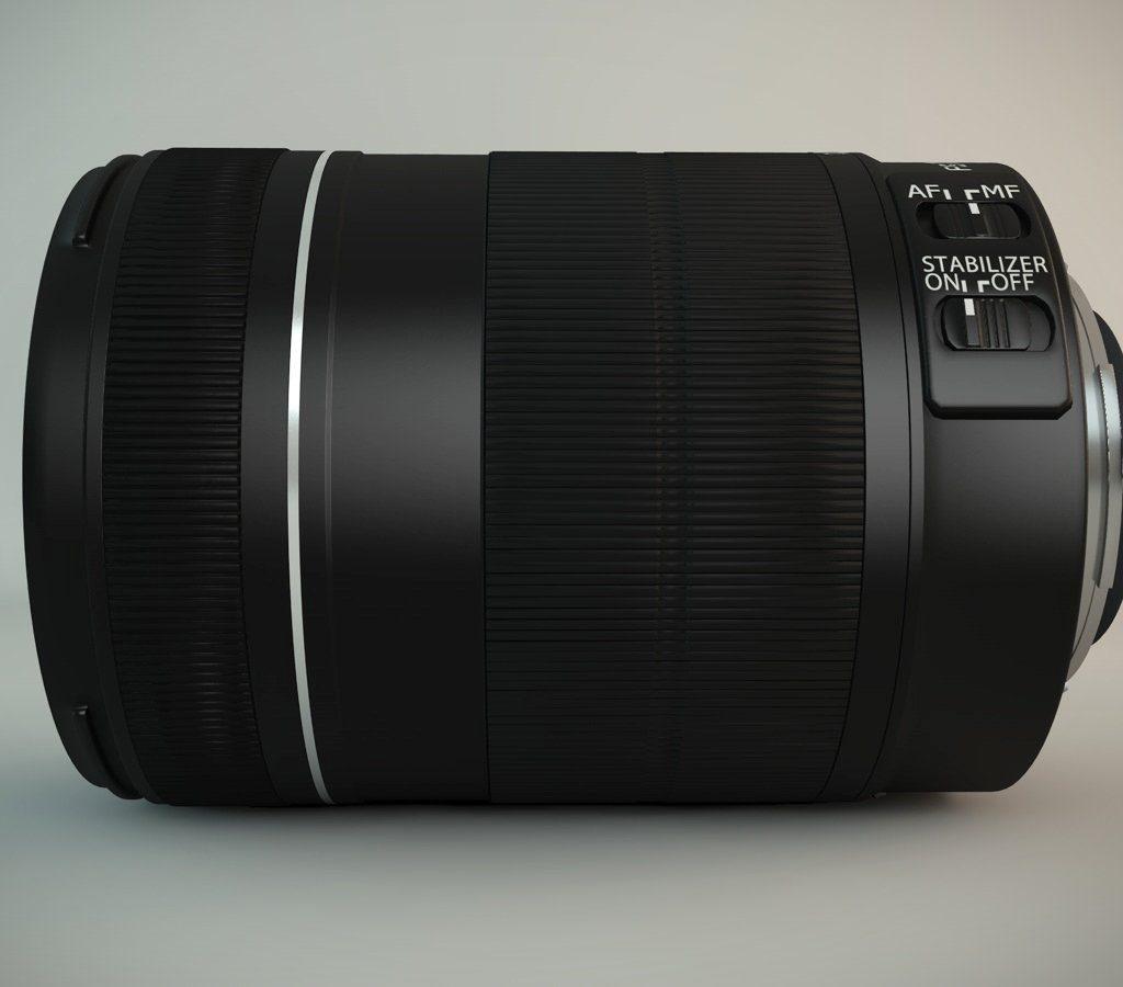 Canon objektiv 2 1