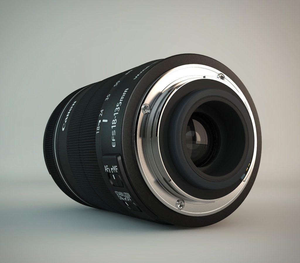 Canon objektiv 3 1