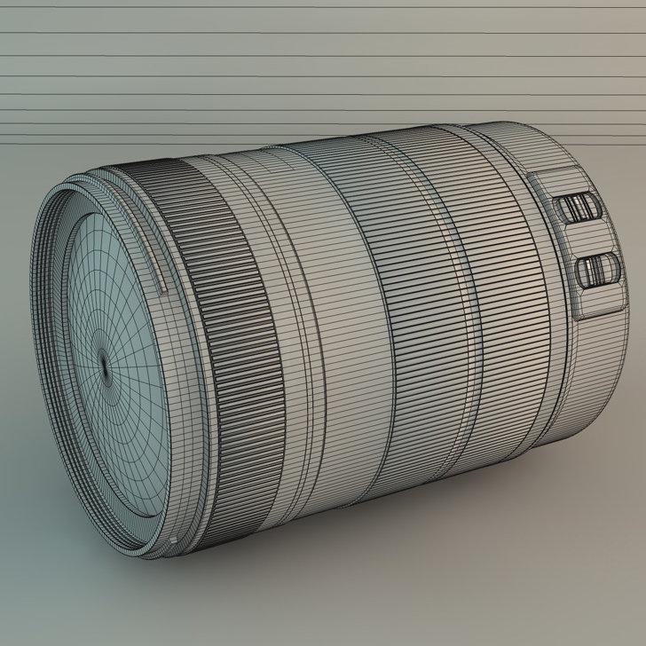 Canon objektiv 7 1