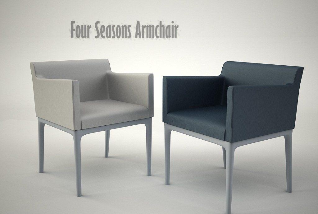 Four Seasons Armchair Vray 1