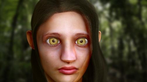 3D grafika - Fiktív karakter